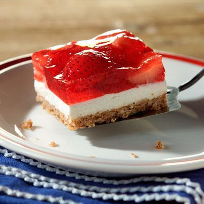 """<p>A crunchy pretzel crust, a creamy center, a tangy <a href=""""https://www.myrecipes.com/t/fruit/berries/strawberries"""" rel=""""nofollow noopener"""" target=""""_blank"""" data-ylk=""""slk:strawberry layer"""" class=""""link rapid-noclick-resp"""">strawberry layer</a>—whatever you're in the mood for, here it is.</p>"""