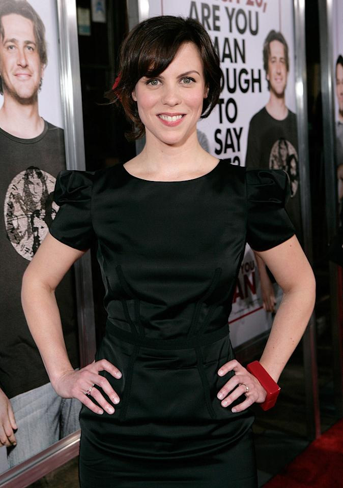 """<a href=""""http://movies.yahoo.com/movie/contributor/1808991779"""">Sarah Burns</a> at the Los Angeles premiere of <a href=""""http://movies.yahoo.com/movie/1810022085/info"""">I Love You, Man</a> - 03/17/2009"""