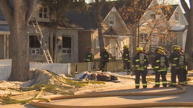 1 person in unstable condition after Aberdeen Avenue fire
