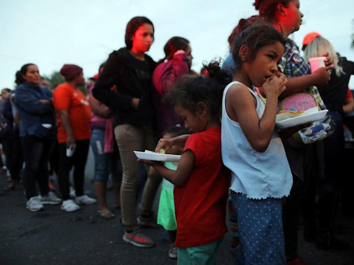 Migrants face unlawful detention and squalid conditions at US-Mexico border, report alleges