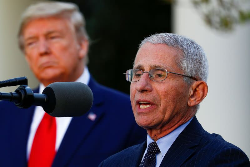 Exclusive: Fauci says regulators promise politics will not guide vaccine timing
