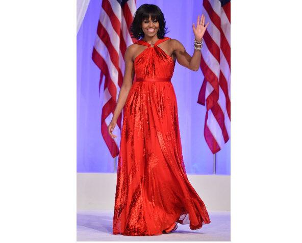 Michelle Obama Wears Jason Wu to Inauguration Ball