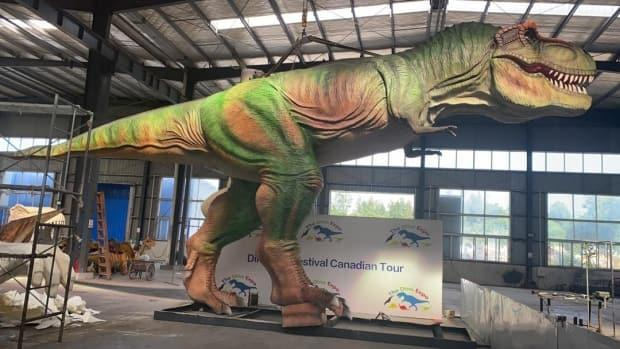 Organizers of Jurassic Fest Montreal, a dinosaur-themed exposition, say the event is real and will happen, despite growing concerns that it may be a hoax.  (The Dino Expo  - image credit)