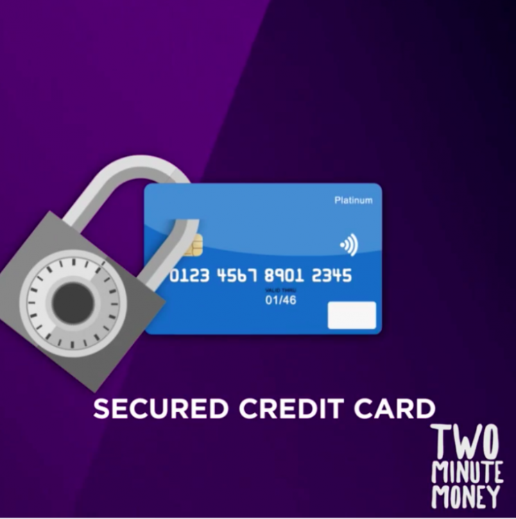 Two Minute Money: How Secured Credit Cards Work [Video]