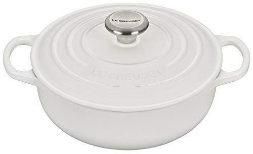 """<p><strong>Le Creuset</strong></p><p>amazon.com</p><p><strong>$179.95</strong></p><p><a href=""""https://www.amazon.com/dp/B086H3KKK3?tag=syn-yahoo-20&ascsubtag=%5Bartid%7C2140.g.32268112%5Bsrc%7Cyahoo-us"""" rel=""""nofollow noopener"""" target=""""_blank"""" data-ylk=""""slk:Shop Now"""" class=""""link rapid-noclick-resp"""">Shop Now</a></p><p>If Your FIL is a chef, he will love this classic enamel cast iron 'Sautease' oven from Le Creuset. </p><p>Le Creuset is one of the best and notable in cookware (it's been around since 1925), and each piece is made by hand in France.</p>"""