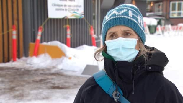 Joie McBryan, nursing lead at the Whitehorse COVID-19 vaccine clinic, said on Monday that everything has gone well since the clinic opened its doorsto all adults.