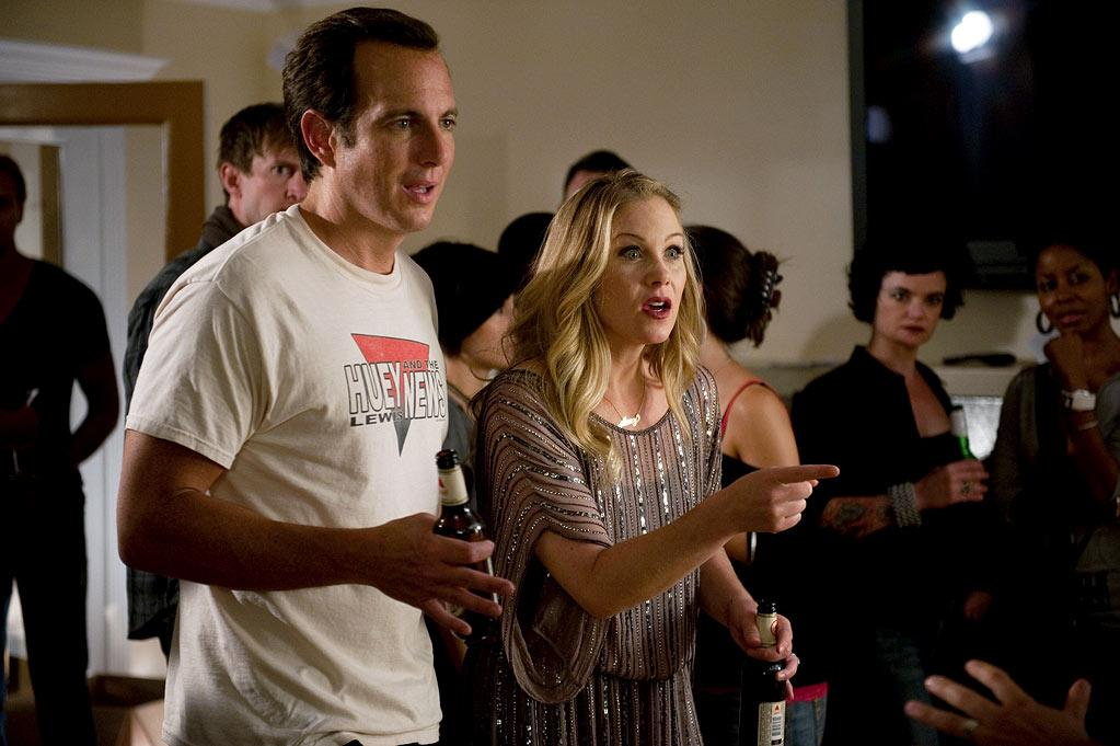 """Will Arnett as Chris and Christina Applegate as Reagan in """"Up All Night."""""""