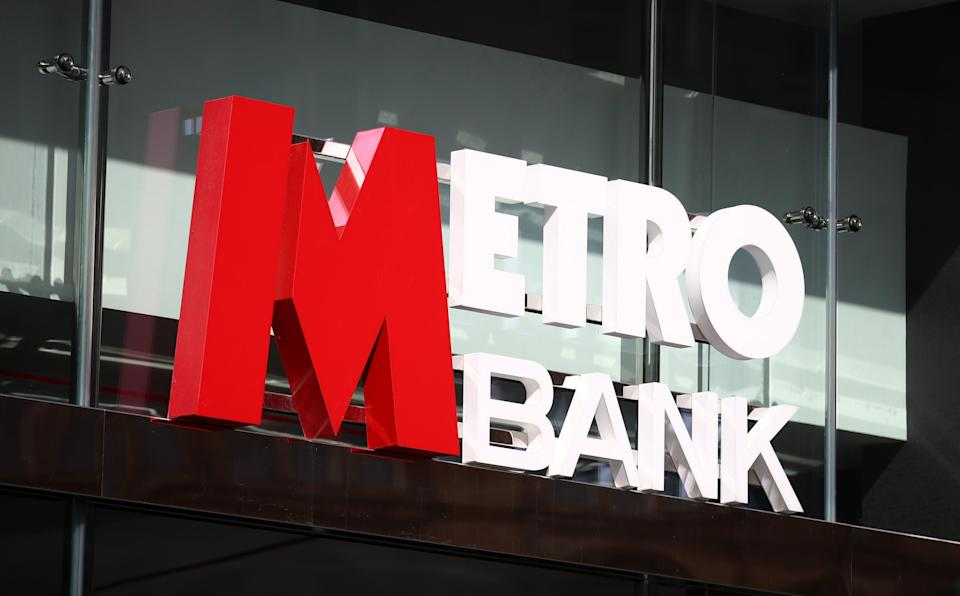 Metro Bank has increased its loan book and customer deposits (Tim Goode/PA) (PA Archive)