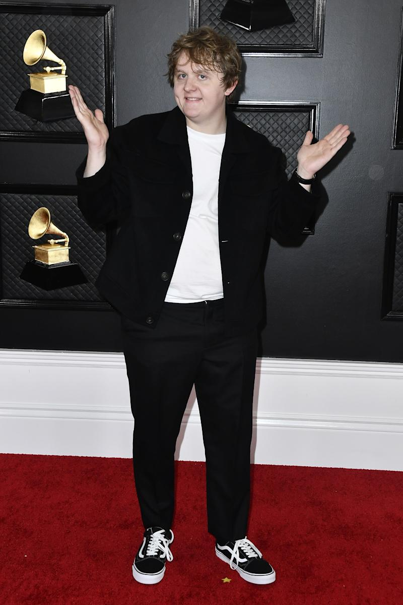 Lewis Capaldi Said He Was Mistaken for a Seat-Filler at Grammys 2020