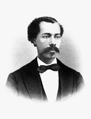 John R. Lynch, a Black congressman from Mississippi who served three terms in the U.S. House during Reconstruction.
