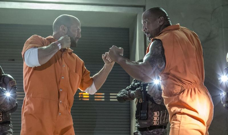Did 'Fast & Furious 8' originally set up a Luke Hobbs/Deckard Shaw spin-off movie? (Credit: Universal)
