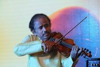 Subramaniam is a known music composer, acclaimed violinist and studied medicine. His compositions have been used in many stage presentations of dance groups worldwide and also in Bollywood films.