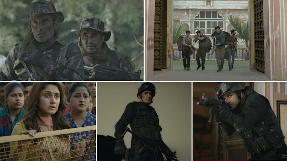 State of Siege: Temple Attack Trailer Out! Akshaye Khanna Fighting the  Terrorists As NSG Commando Will Give You Chills (Watch Video)
