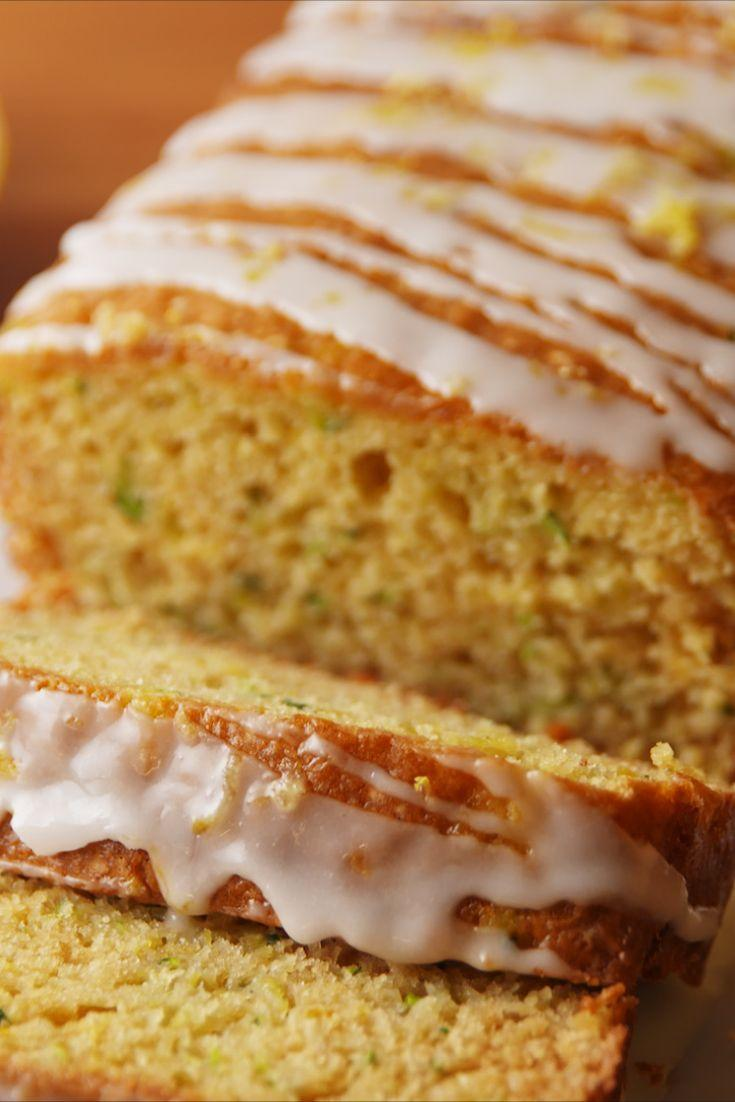 """<p>Basically spring in a bread.</p><p>Get the recipe from <a href=""""https://www.delish.com/cooking/recipe-ideas/recipes/a52801/lemon-zucchini-bread-recipe/"""" rel=""""nofollow noopener"""" target=""""_blank"""" data-ylk=""""slk:Delish"""" class=""""link rapid-noclick-resp"""">Delish</a>.</p>"""