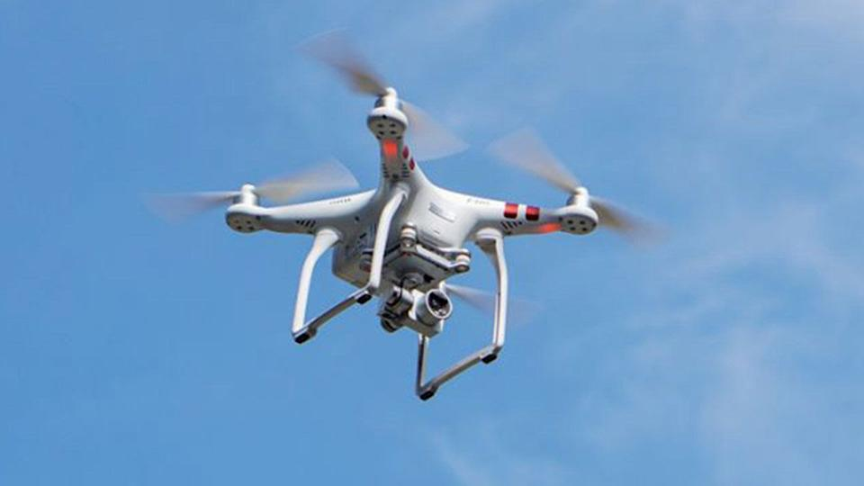 The drones could have caused disaster if they had hit the plane. Source: Getty
