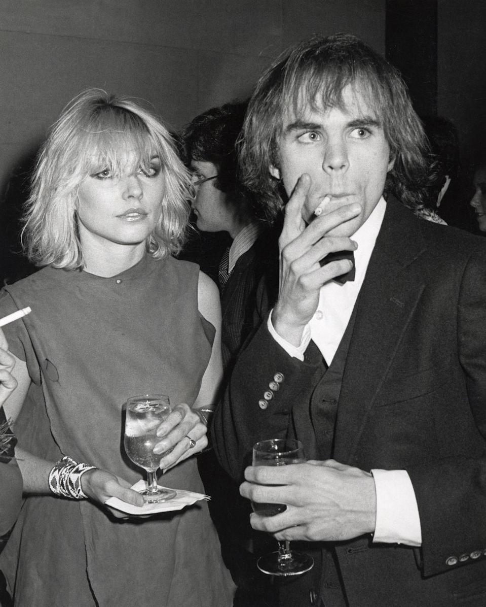 "<p>Blondie singer Debbie Harry wears a sleeveless dress along with her signature messy hair, as she attends the Metropolitan Museum of Art's Costume Institute Gala in 1979. The evening centered around that year's exhibit, ""Fashions of The Hapsburg Era.""</p>"