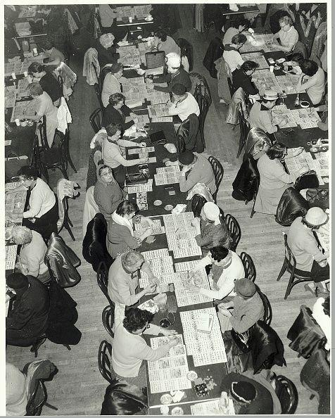 <p>This referred to, yes, the bingo halls that became a hot fad (and then a long-loved game). </p>