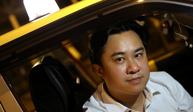 "Franco Cheung, a taxi driver has given free rides to protesters, said ""I decided to use other means to help the movement."" Photo: K.Y. Cheng"