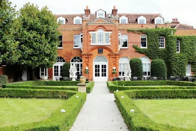 Their dream wedding venue at Shepperton Studios was cancelled after it was bought by Netflix [Image: SWNS]