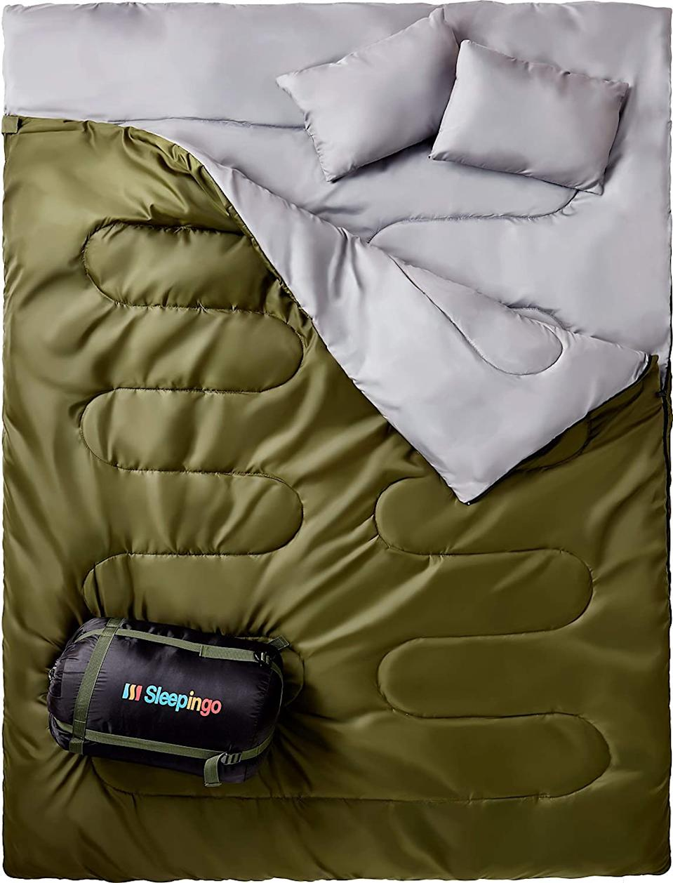 Sleepingo Double Sleeping Bag (Photo via Amazon)