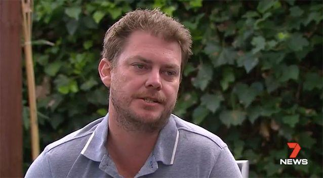 Mr Gilchrist claims he was kicked out of the venue by police. Source: 7 News