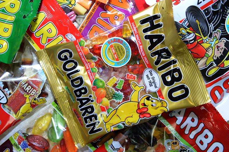 Haribo Gold Bears and other products.