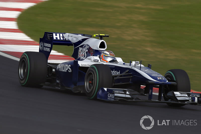 "2010 (Nico Hulkenberg, Williams-Cosworth FW32)<span class=""copyright"">Andrew Ferraro / Motorsport Images</span>"