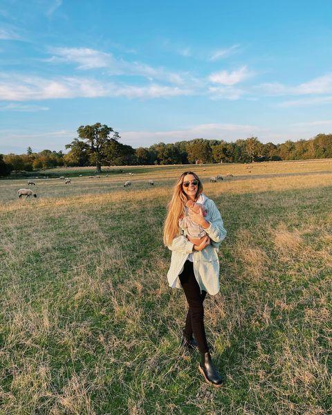 """<p>YouTuber <a href=""""https://www.cosmopolitan.com/uk/entertainment/a37383705/zoe-sugg-given-birth-first-child-alfie-deyes/"""" rel=""""nofollow noopener"""" target=""""_blank"""" data-ylk=""""slk:Zoe Sugg welcomed her first child"""" class=""""link rapid-noclick-resp"""">Zoe Sugg welcomed her first child</a>, Ottilie Rue Deyes, in August. Since then, she's been incredibly open and honest with her 9.3 million Instagram followers about <a href=""""https://www.cosmopolitan.com/uk/body/health/a37571199/zoe-sugg-postpartum-life/"""" rel=""""nofollow noopener"""" target=""""_blank"""" data-ylk=""""slk:how she's coped with her postpartum experience"""" class=""""link rapid-noclick-resp"""">how she's coped with her postpartum experience</a>.</p><p>""""The recovery in the fourth trimester really is no joke,"""" she said in a recent Instagram post, explaining that some days she feels """"invincible"""" and others like her """"organs are going to slip out.""""</p><p>Zoe also revealed that on the days she can't get out of bed, she feels as though she's missing out on special moments with Otti. Ultimately though, she just wants her followers, and fellow new mums, to know that it's okay to feel this way.</p><p> """"I just [want] to reassure any new mums out there, that are in those first throws of postpartum, and feel like the healing process is a long and frustrating one, you will get to do that thing you want to do and you're doing a bloody great job,"""" she said. """"You've just done such a huge thing and you should be more gentle with yourself, after all you deserve it!"""" <br></p><p><a href=""""https://www.instagram.com/p/CUSmKx_oZfr/"""" rel=""""nofollow noopener"""" target=""""_blank"""" data-ylk=""""slk:See the original post on Instagram"""" class=""""link rapid-noclick-resp"""">See the original post on Instagram</a></p>"""