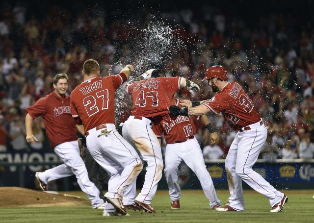 After taking another from the A's, Angels looking like a team to beat