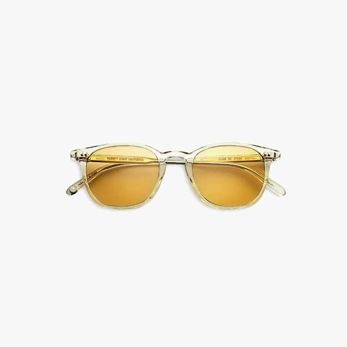 """$400, BLOOMINGDALES. <a href=""""https://www.bloomingdales.com/shop/product/garrett-leight-unisex-clark-square-sunglasses-47mm?ID=3696891&CategoryID=1004777#fn=ppp%3Dundefined%26sp%3DNULL%26rId%3DNULL%26spc%3D338%26spp%3D14%26pn%3D1%7C4%7C14%7C338%26rsid%3Dundefined%26smp%3DmatchNone"""" rel=""""nofollow noopener"""" target=""""_blank"""" data-ylk=""""slk:Buy Now"""" class=""""link rapid-noclick-resp"""">Buy Now</a><br>"""