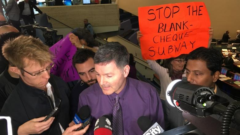 City council votes to forge ahead with Scarborough subway