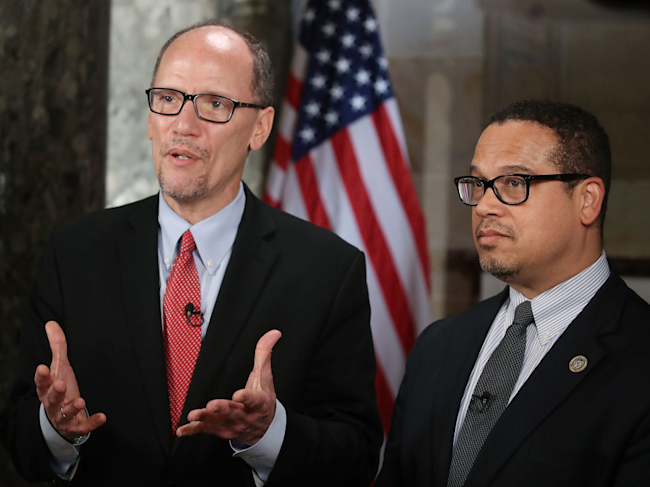 keith ellison tom perez