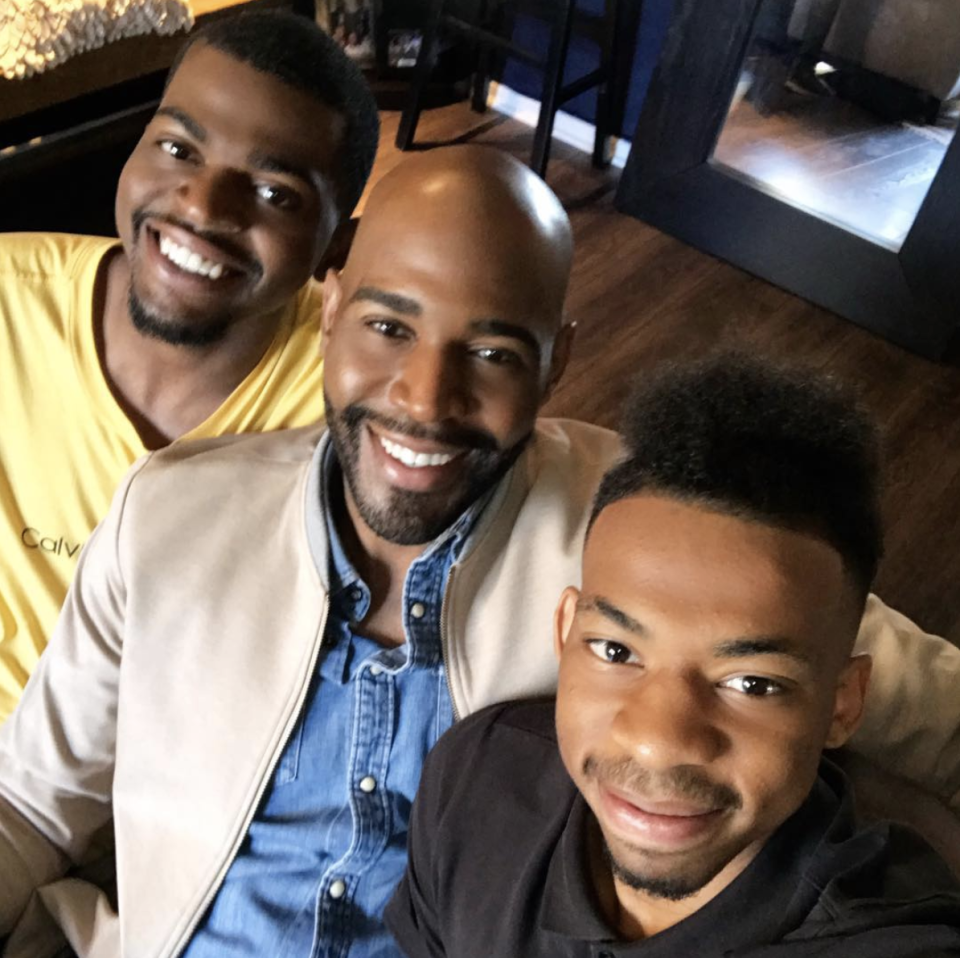 "<p>Before Karamo Brown came out at 16 years old, his girlfriend became pregnant with his child and did not tell him. He shared with <a href=""https://www.parents.com/parenting/celebrity-parents/moms-dads/queer-eye-star-karamo-brown-opens-up-about-discovering-he-had/"" rel=""nofollow noopener"" target=""_blank"" data-ylk=""slk:Parents"" class=""link rapid-noclick-resp"">Parents</a>. ""She moved away, and I never had contact with her again,"" he said. Ten years later, he learned about his son through a court subpoena for child support. ""It wasn't always easy, but when it comes to your children, giving up is never an option."" </p>"