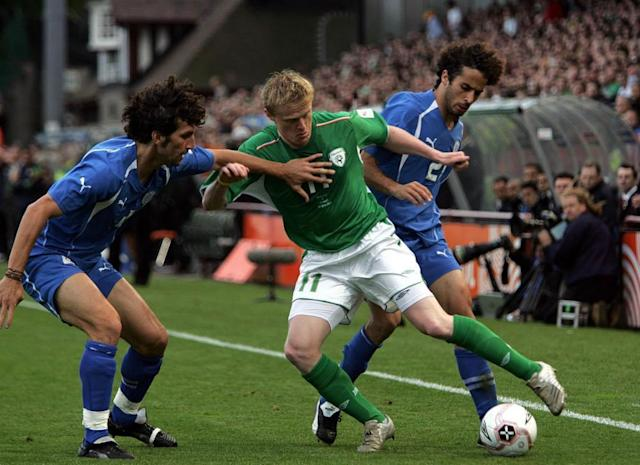 "<span class=""element-image__caption"">Israel fought back for a 2-2 draw against the Republic of Ireland at Lansdowne Road in 2005, as they went unbeaten through World Cup qualifying … but failed to progress.</span> <span class=""element-image__credit"">Photograph: Cathal McNaughton/PA</span>"
