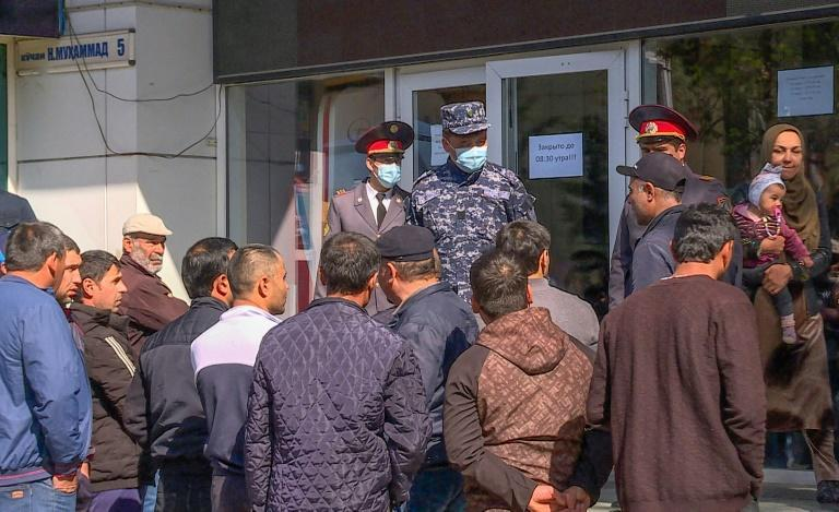 Tajik migrant workers face a choice to choose between extortionate charter flights to Russian cities or months idling at home where jobs are virtually non-existent