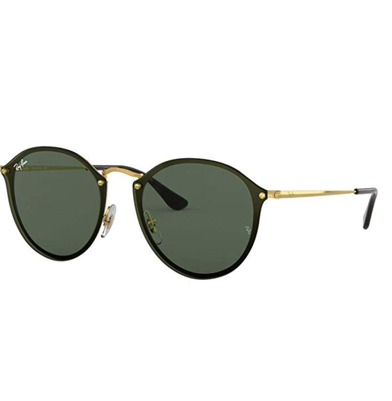 """<p><strong>Ray-Ban</strong></p><p>amazon.com</p><p><strong>$121.00</strong></p><p><a href=""""https://www.amazon.com/dp/B076VN6LLL?tag=syn-yahoo-20&ascsubtag=%5Bartid%7C10054.g.32958300%5Bsrc%7Cyahoo-us"""" rel=""""nofollow noopener"""" target=""""_blank"""" data-ylk=""""slk:Buy"""" class=""""link rapid-noclick-resp"""">Buy</a></p><p>*Cues up """"Black and Yellow"""" on the speaker*</p>"""