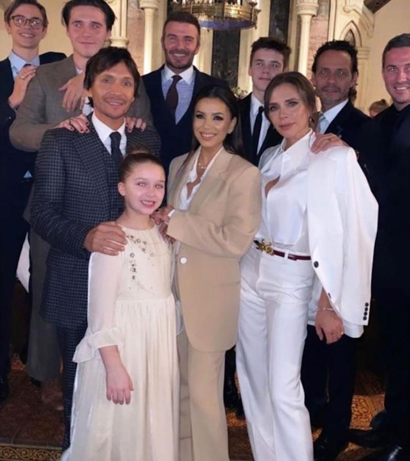 Victoria Beckham has 'proudest of days' as her youngest children are baptised