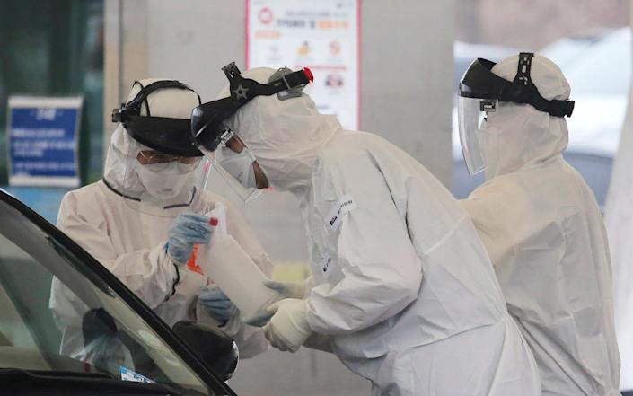 South Korea's early and widespread testing was held up as an example for the rest of the world - Ahn Young-joon/AP