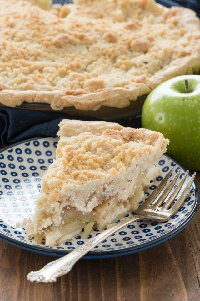 """<p>The secret to this recipe? A crisp, crumbly topping, full of butter and sugar.</p><p><strong>Get the recipe at <a rel=""""nofollow noopener"""" href=""""http://www.crazyforcrust.com/2016/05/crumb-apple-pie-recipe/"""" target=""""_blank"""" data-ylk=""""slk:Crazy For Crust"""" class=""""link rapid-noclick-resp"""">Crazy For Crust</a>.</strong></p>"""