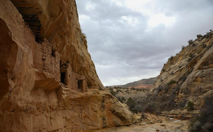 Some of the Native American ruins in the Bears Ears National Monument.