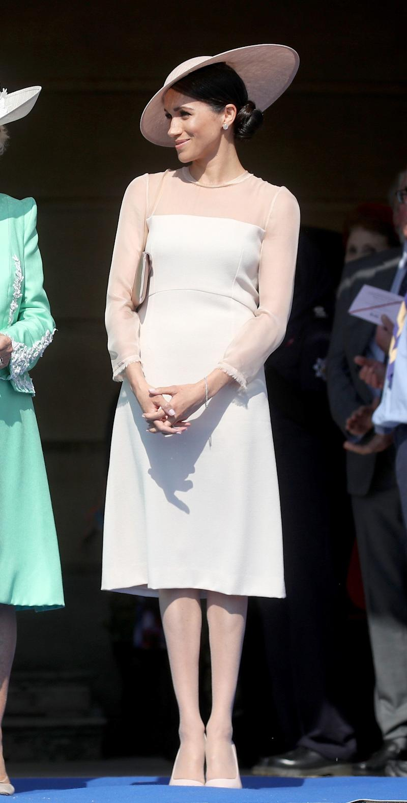 The duchess attends The Prince of Wales' 70th Birthday Patronage Celebration held at Buckingham Palace on May 22.