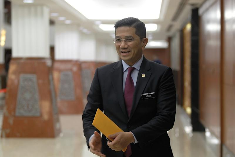 Economic Affairs Minister Datuk Seri Mohamed Azmin Ali said Malaysia must correct the negative perception of the FAA listing of the Civil Aviation Authority of Malaysia (CAAM) as a Category 2 aviation regulator. — Bernama file pic