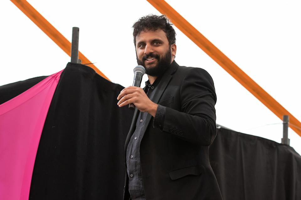 Nish Kumar performing at Latitude Festival in 2019 (Photo: Carla Speight via Getty Images)