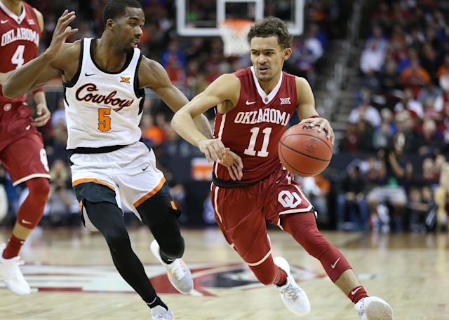 Both Oklahoma and Oklahoma State were bubble teams heading into Selection Sunday. (Getty)