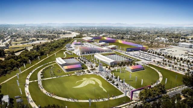 <p>Olympic and Paralympic Shooting in L.A. Stadium at Hollywood Park. (Photo: Courtesy LA 2024) </p>