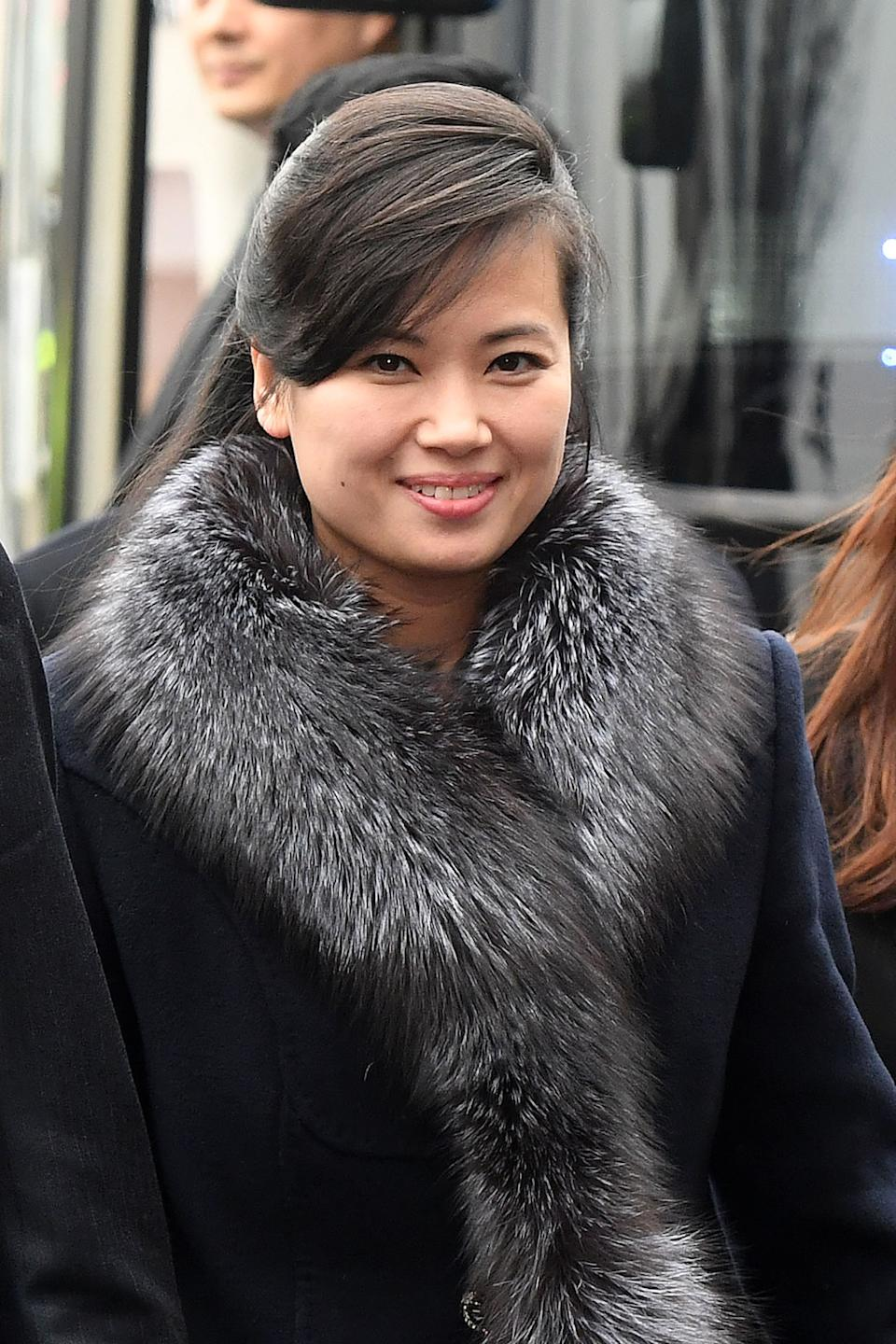 Hyon Song-Wol who seems to have taken the role of Kim's sister.