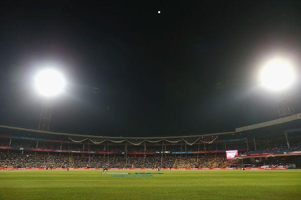 Chinnaswamy stadium is one of the most prominent stadiums in India