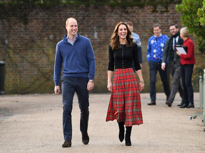 49d52c106 Kate Middleton brings back this '90s skirt trend for the holidays: Shop it  starting at $10