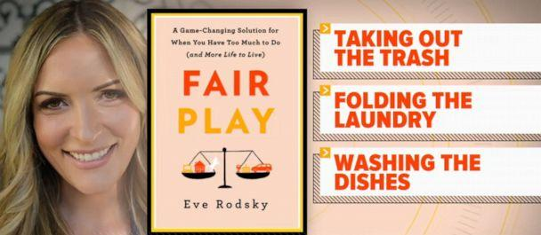PHOTO: Eve Rodsky, author of the book Fair Play, shows couples how to build a stronger marriage through sharing the workload at home. (Walt Disney Television)