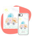 """You know that one piece of art your mom still has from when you are little that she will not part with? Now with the help of Casetify you can make it something she can carry with her everywhere by turning your art, letters, or even a photo into a phone case. $54, Casetify. <a href=""""https://www.casetify.com/product/kids-case--17831012/iphone12/grip-case-white-camera-ring?color=rose-gold#/16002211"""" rel=""""nofollow noopener"""" target=""""_blank"""" data-ylk=""""slk:Get it now!"""" class=""""link rapid-noclick-resp"""">Get it now!</a>"""
